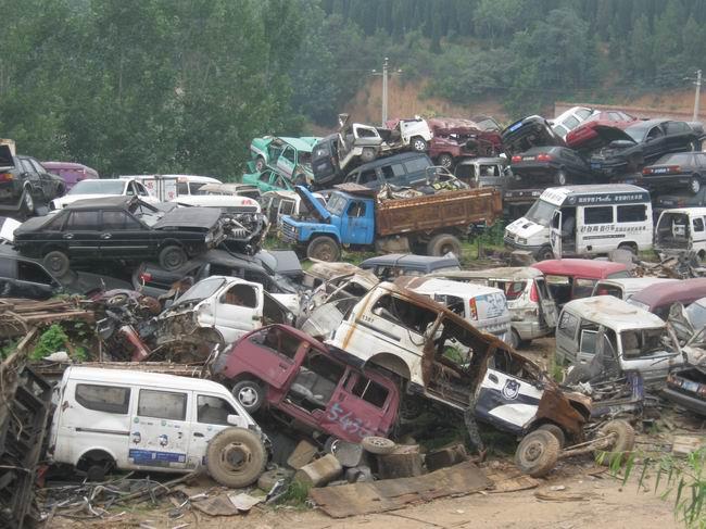 scrap vehicle disposal