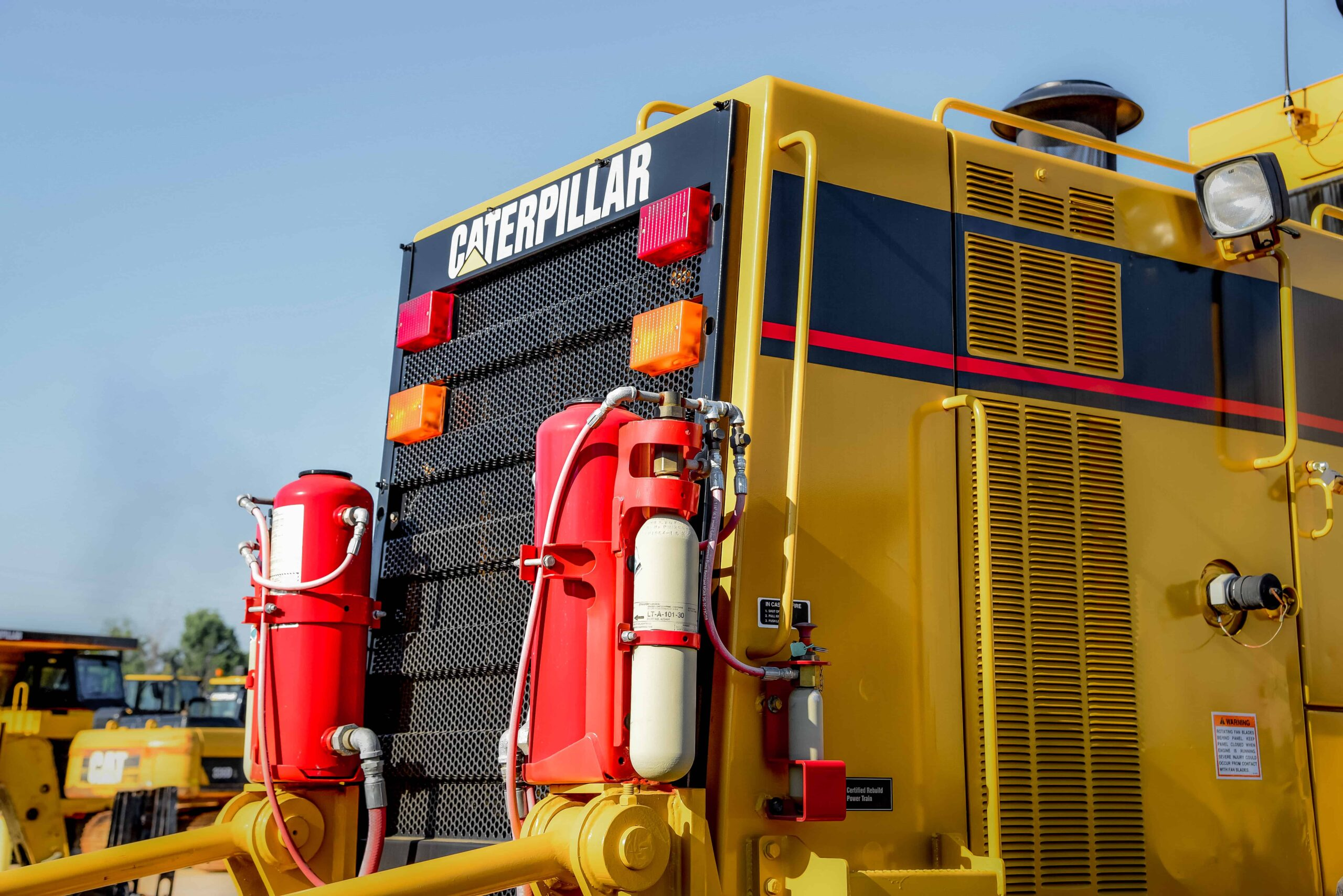 Armored Vehicle Fire Suppression Systems