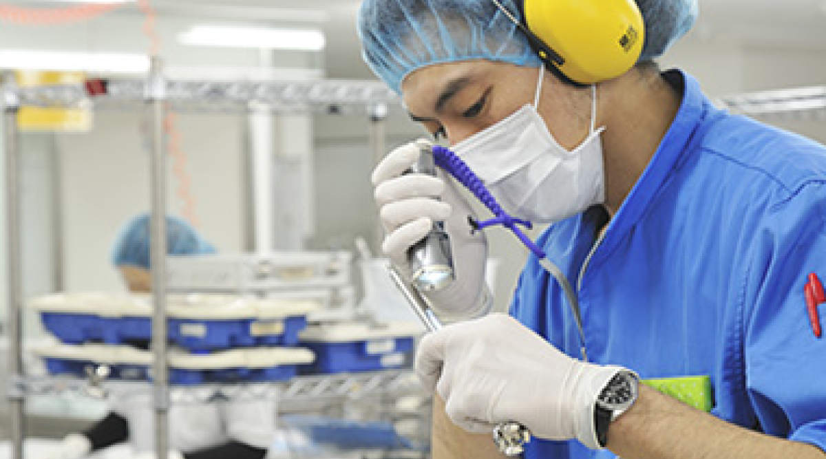 medical device cleaning